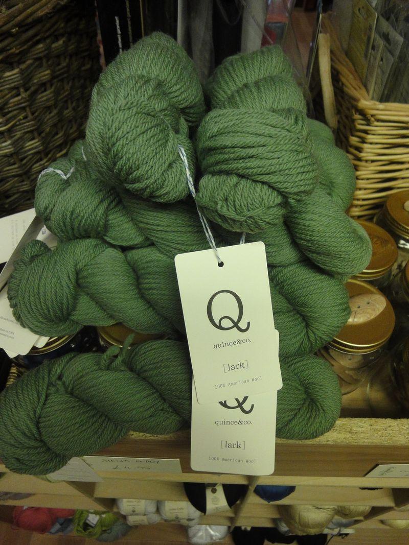Quince & Co Lark in Lichen